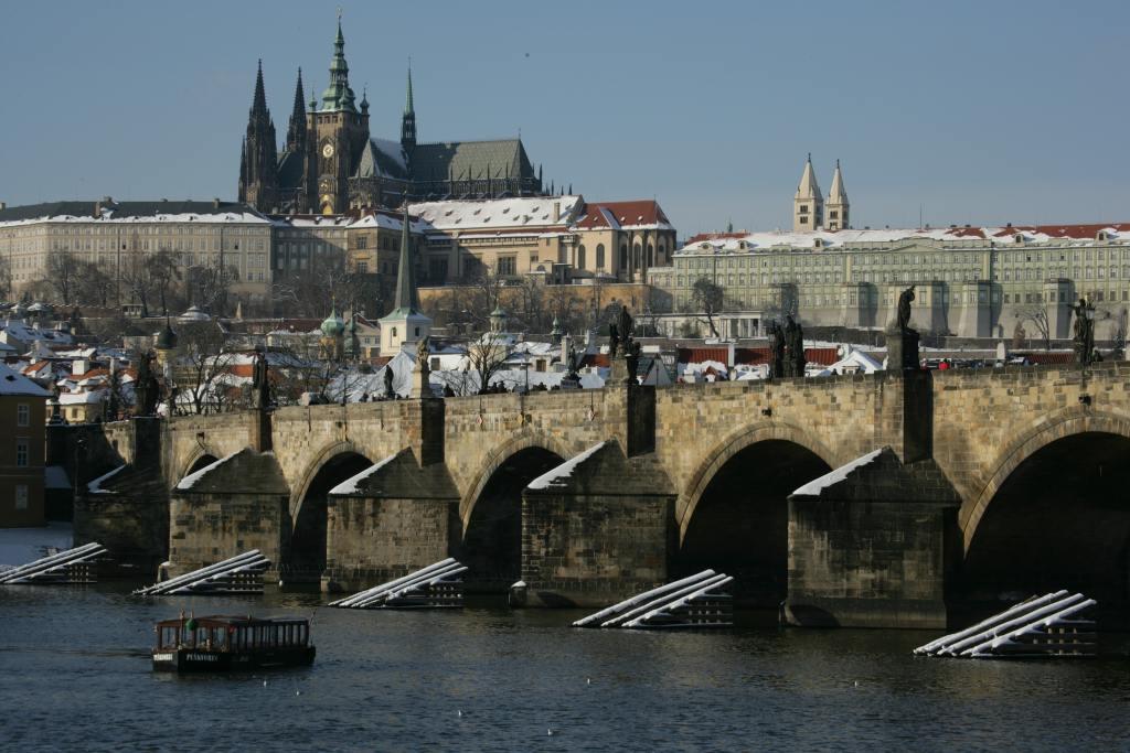 Vodouch s nejkrásnějším panoramatem Prahy | Pražské Benátky