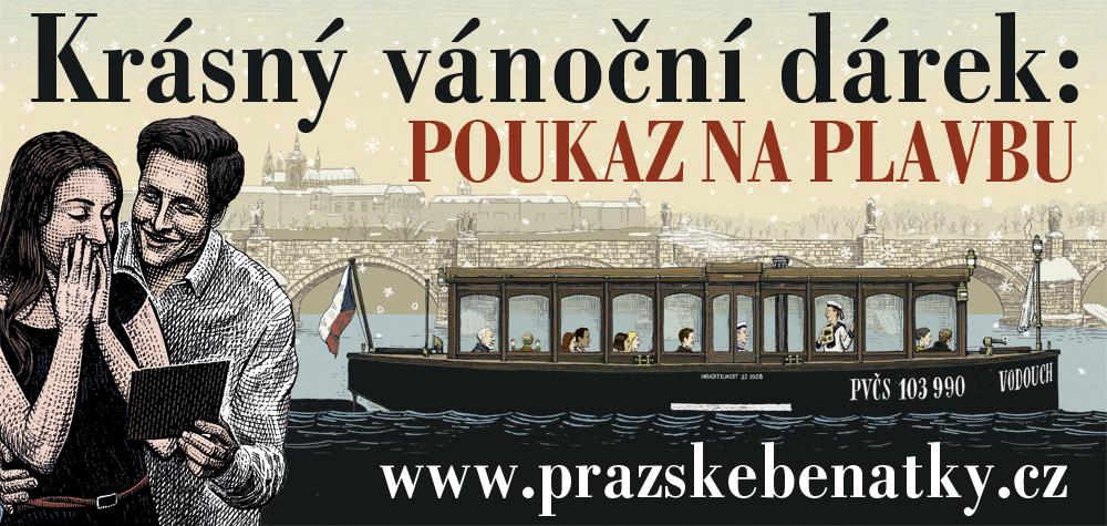 Dárkový poukaz na plavbu v Pražských Benátkách