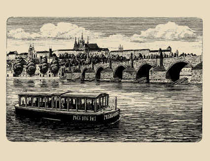 Vodouch and Charles Bridge | Prague Venice