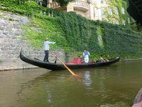 Pravá benátská gondola Eleanora | Pražské Benátky