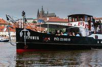 Nejkrásnější loď v Praze | Pražské Benátky
