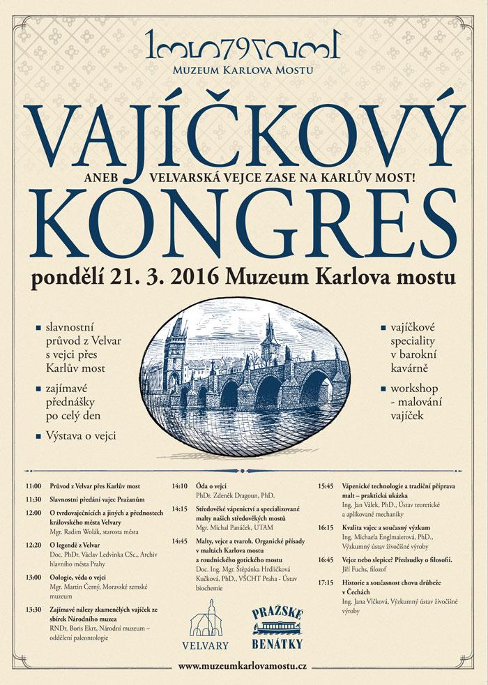 Vajíčkový kongres - plakát | Muzeum Karlova mostu