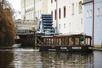 Vodouch v zimní Čertovce | Pražské Benátky