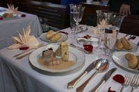Slavnostní menu na palubě člunu Vodouch | Pražské Benátky